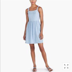 J. Crew Factory Chambray Apron Dress Small